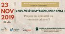Forum citoyen : L'aide au développement, on en parle !