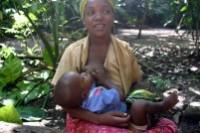 Mbz1, A mother breastfeeding a child at Zanzibar, CC Attribution sharealike 3.0